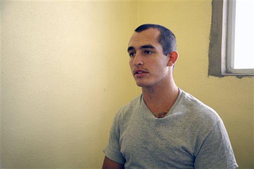Sgt. Andrew Tahmooressi  (AP Photo/UT San Diego, Alejandro Tamayo)