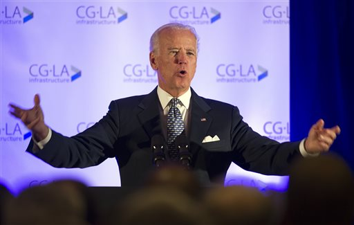 Vice President Joe Biden  (AP Photo/Cliff Owen)