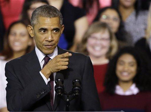 President Barack Obama  (AP Photo/Stephan Savoia)