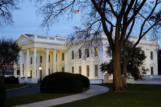 The White House at dusk  (AP Photo/Jacquelyn Martin)