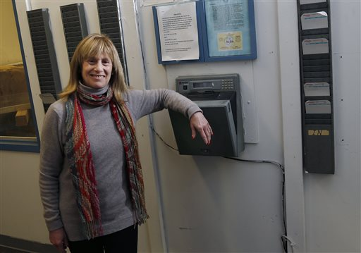 Judy Solomon, vice president of Kinetic Systems Inc.  (AP Photo/Elise Amendola)