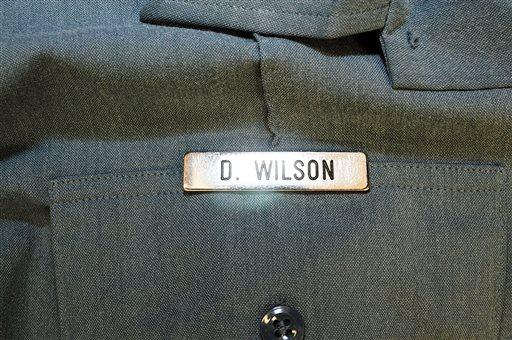 Ferguson police officer Darren Wilson when he shot Michael Brown  (AP Photo/St. Louis County Prosecuting Attorney's Office)