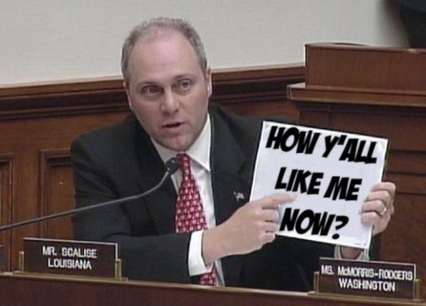 Rep. Steve Scalise: Do white supremacists like him?