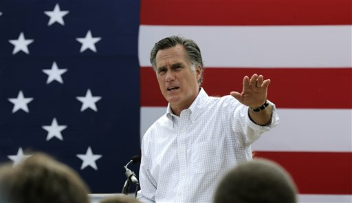 Mitt Romney, the former Republican presidential nominee (AP Photo/Charles Krupa)