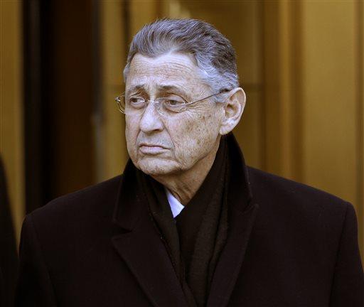 Former New York State Assembly Speaker Sheldon Silver.  (AP Photo/Seth Wenig)