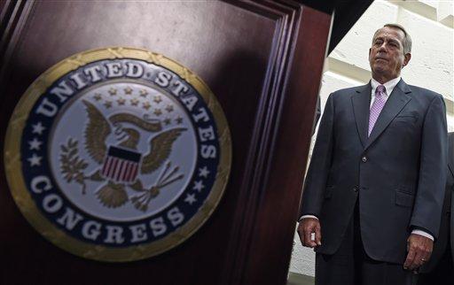House Speaker John Boehner of Ohio  (AP Photo/Susan Walsh)
