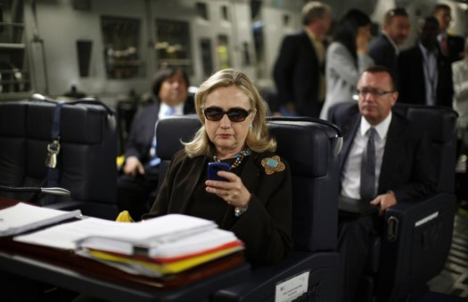 Former Secretary of State Hillary Rodham Clinton (AP Photo/Kevin Lamarque, Pool)