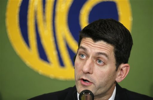 U.S. Rep. Paul Ryan, R-Wis., chairman of the House Ways and Means Committee  (AP Photo/Shizuo Kambayashi)