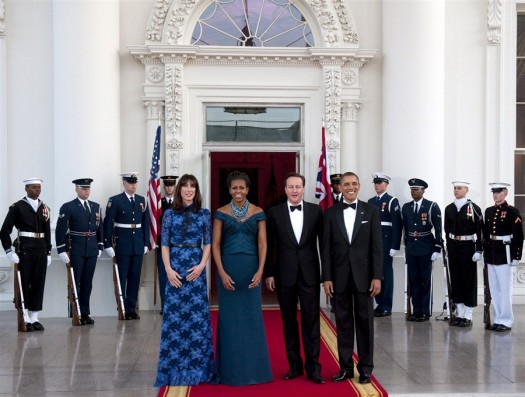 One of Obama's few state dinners