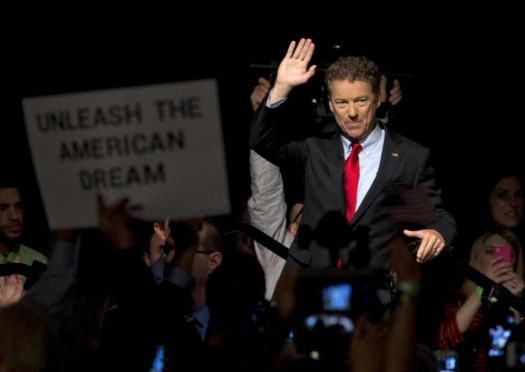 Sen. Rand Paul, R-Ky. (AP Photo/Carolyn Kaster)