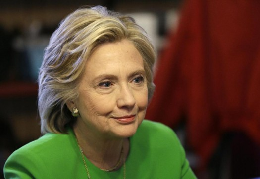 Democratic presidential candidate Hillary Rodham Clinton. (AP Photo/Charlie Neibergall)