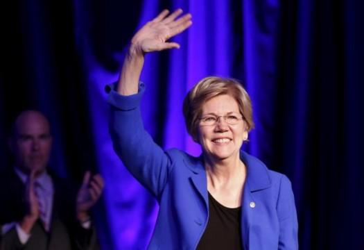 Senator Elizabeth Warren (D-MA)   (REUTERS/Yuri Gripas)