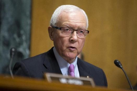 Senate Finance Committee Chairman Sen. Orrin Hatch, R-Utah.  (AP Photo/Evan Vucci)