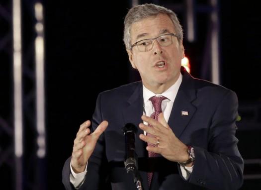 Former Florida Gov. Jeb Bush. (AP Photo/Pat Sullivan)