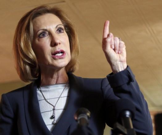 Former Hewlett-Packard CEO Carly Fiorina.  (AP Photo/Jim Cole)
