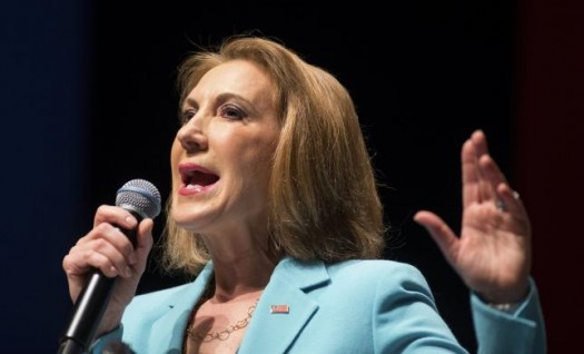 Former Hewlett-Packard Co Chief Executive and Republican U.S. presidential candidate Carly Fiorina. (REUTERS/Chris Keane)