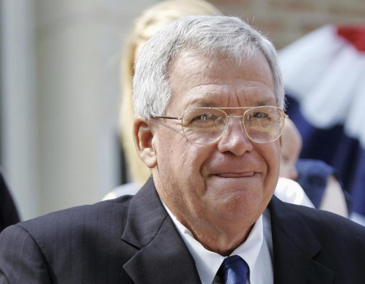 Former House Speaker Dennis, Hastert, R-Ill. (AP Photo/Brian Kersey)