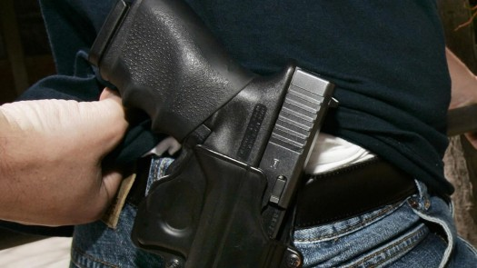 Open carry: Soon to be legal in Texas.