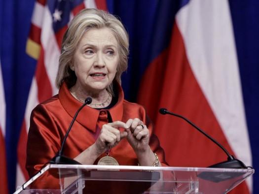 Democratic presidential candidate Hillary Rodham Clinton. (AP Photo/Pat Sullivan)