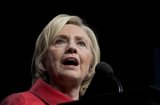 Democratic presidential candidate Hillary Rodham Clinton. (AP Photo/Manuel Balce Ceneta)