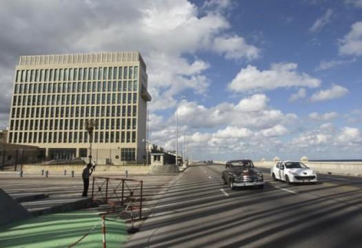 Planned new American embassy in Cuba.