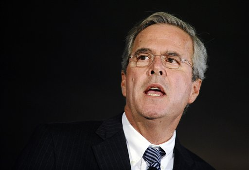 Republican presidential candidate former Florida Gov. Jeb Bush speaks during a town hall meeting on Monday, Aug. 17, 2015, in Columbia, S.C. (AP Photo/Rainier Ehrhardt)