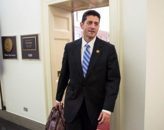 U.S. Rep. Paul Ryan (R-WI) leaves his office on Capitol Hill in Washington October 23, 2015. REUTERS/Joshua Roberts