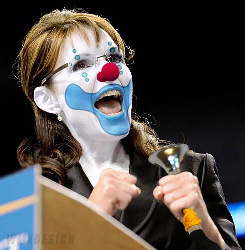 Sarah Palin : Another Republican Clown