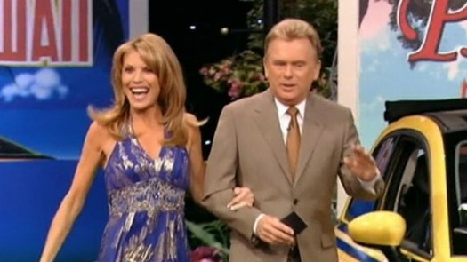 Pat and Vanna on Wheel of Fortune.