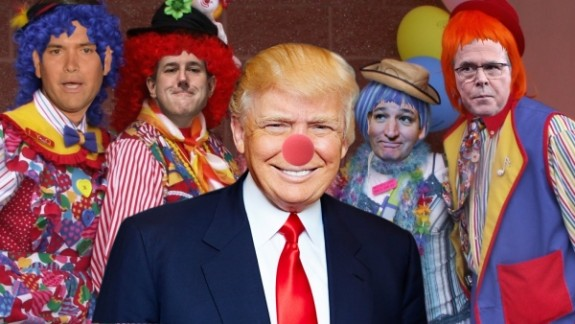 Donald Trump: Not the only clown in this political circus.