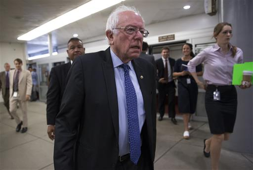 Democratic presidential candidate Sen. Bernie Sanders. (AP Photo/J. Scott Applewhite, File)