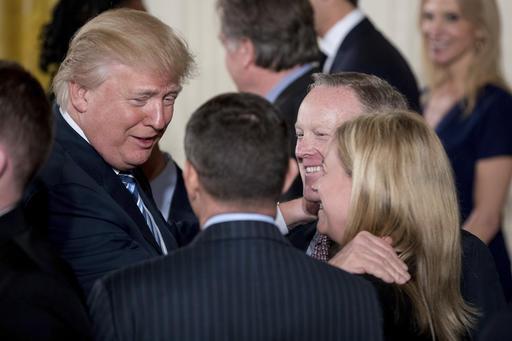 President Trump starts first week