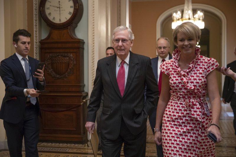 Senate, 51-49, limits debate, forwards Kavanaugh for final vote
