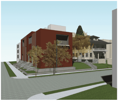 CHS wrote about the plans for the project here in February