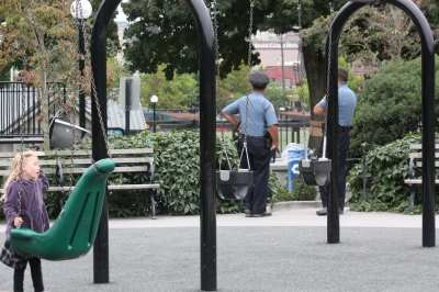 Cops on patrol in 2011 -- Cal Anderson has been here before (Image: CHS)