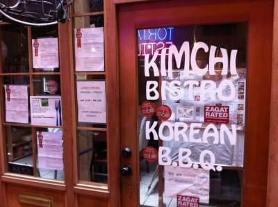 Kimchi Bistro is safe and sound