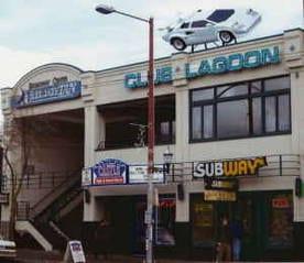 The former Club Lagoon's legendary Lamborghini