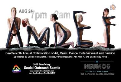 AMDEF 2013, Seattle's 6th annual collaboration of Art, Music, Dance, Entertainment and Fashion @ Neumos