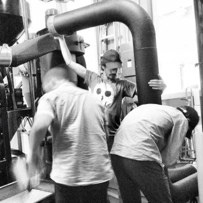 Roasters at work on Pike (Image: Victrola Coffee)