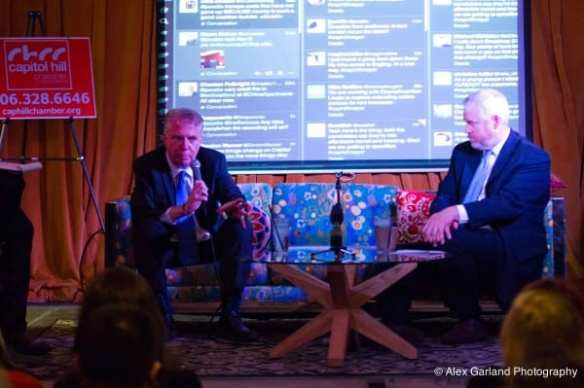 Murray and McGinn faced off in October's Capitol Hill mayoral candidate forum