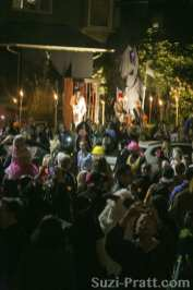 Halloween Trick Or Treating in Capitol Hill, Seattle