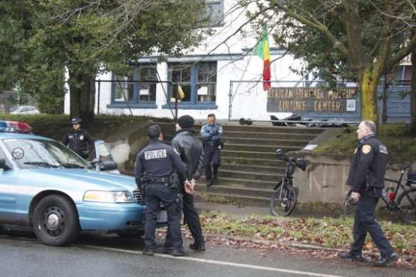 A fourth person is arrested in Tuesday's raid (Image: CHS)