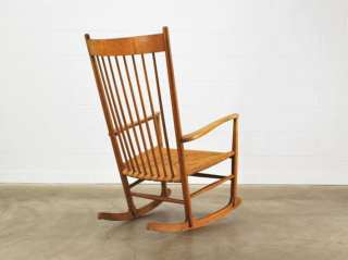 You probably know somebody you really, really love who needs this Madsen Modern Hans Wegner Rocking Chair