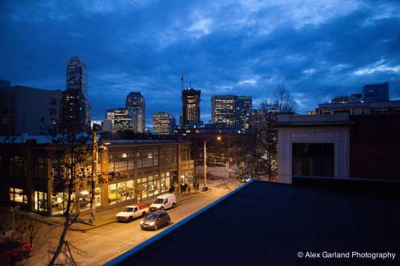 The (eventual) view from the rooftop patio