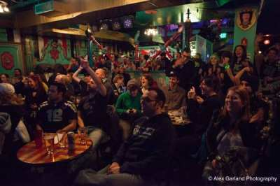 Inside your favorite Capitol Hill, um, sports bar on Super Bowl Sunday (Image: CHS)