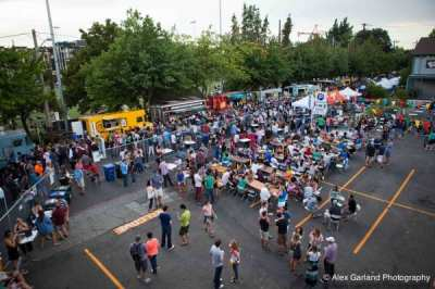 Last summer's street food festival on 11th Ave paved the way for a new Pride event (Image: CHS)