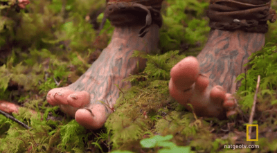 """""""Tattoos of roots adorn his feet..."""""""