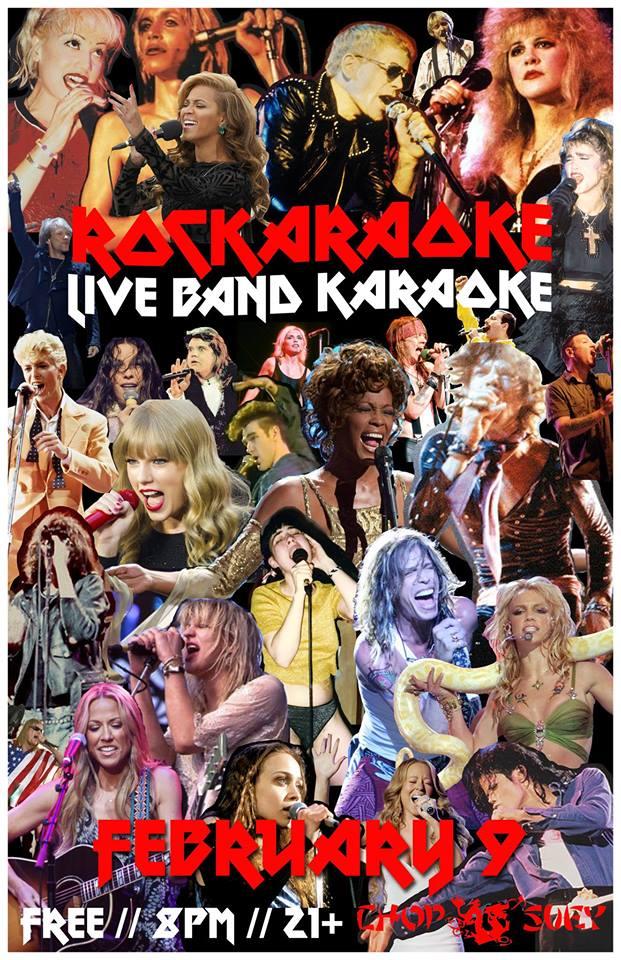 Rockaraoke: Live Band Karaoke | CHS Capitol Hill Seattle