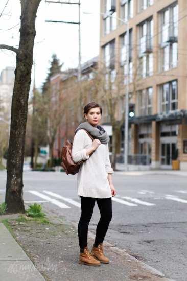 Danielle Hammer timberland boots mini backpack Seattle street style fashion it's my darlin'_0690