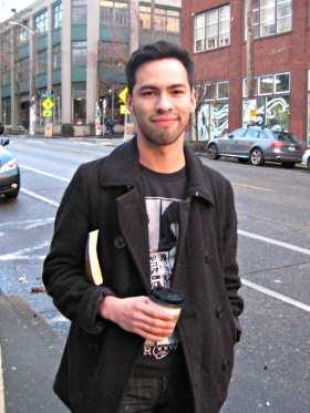 Justin, CHS Crow 2014.03.15 portrait, JO
